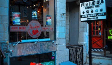 Randolph Pub Ludique Quartier latin